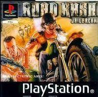 Portada oficial de Road Rash Jail Break para PS One