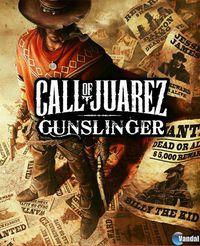 Portada oficial de Call of Juarez: Gunslinger PSN para PS3