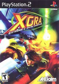 Portada oficial de XGRA para PS2