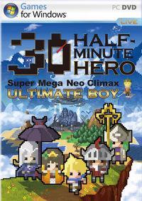 Portada oficial de Half-Minute Hero: Super Mega Neo Climax para PC
