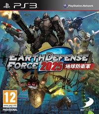 Portada oficial de Earth Defense Force 2025 para PS3