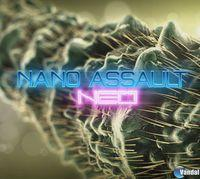 Portada oficial de Nano Assault Neo eShop para Wii U