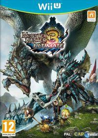 Portada oficial de Monster Hunter 3 Ultimate para Wii U