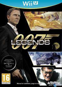 Portada oficial de 007 Legends para Wii U
