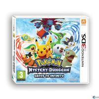 Portada oficial de Pokémon Mundo Misterioso: Portales al Infinito para Nintendo 3DS