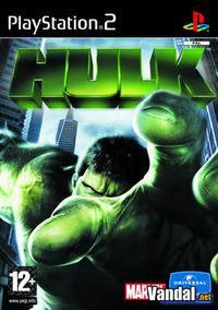 Portada oficial de The Hulk para PS2
