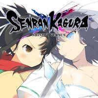 Portada oficial de Senran Kagura: Shinovi Versus PSN para PSVITA