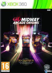 Portada oficial de Midway Arcade Origins para Xbox 360