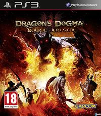 Portada oficial de Dragon's Dogma: Dark Arisen para PS3
