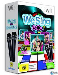 Portada oficial de We Sing 80s para Wii
