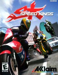 Portada oficial de Speed Kings para PS2