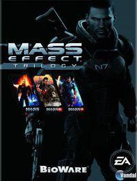 Portada oficial de Mass Effect Trilogía para Xbox 360