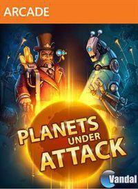 Portada oficial de Planets Under Attack XBLA para Xbox 360
