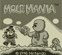 Portada oficial de Mole Mania eShop para Nintendo 3DS