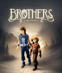 Portada oficial de Brothers: A Tale of Two Sons PSN para PS3