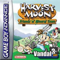 Portada oficial de Harvest Moon: Friends of Mineral Town para Game Boy Advance