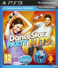 Portada oficial de DanceStar Party Hits para PS3