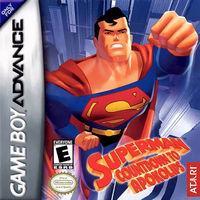 Portada oficial de Superman: Countdown to Apokolips para Game Boy Advance