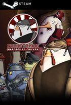 Portada oficial de de Rocketbirds Hardboiled Chicken para PC