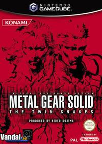 Portada oficial de Metal Gear Solid: The Twin Snakes para GameCube
