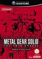 Portada oficial de de Metal Gear Solid: The Twin Snakes para GameCube