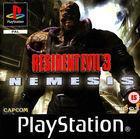 Portada oficial de de Resident Evil 3: Nemesis para PS One