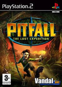 Portada oficial de Pitfall: The Lost Expedition para PS2