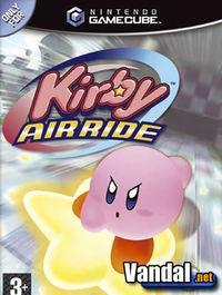 Portada oficial de Kirby Air Ride para GameCube