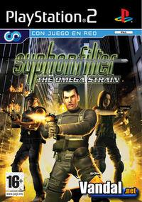 Portada oficial de Syphon Filter Omega Strain para PS2