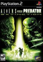 Portada oficial de de Alien Versus Predator: Extinction para PS2