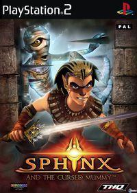 Portada oficial de Sphinx y la Maldita Momia para PS2