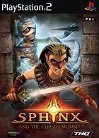 Portada oficial de de Sphinx y la Maldita Momia para PS2