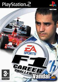 Portada oficial de F1 Career Challenge para PS2