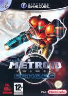 Portada oficial de de Metroid Prime 2: Echoes para GameCube