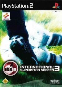Portada oficial de ISS 3 para PS2
