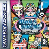 Portada oficial de Wario Ware: Minigame Mania para Game Boy Advance