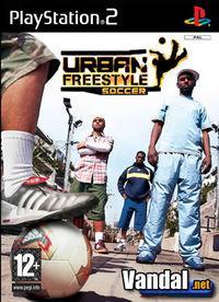 Portada oficial de Urban Freestyle Soccer para PS2