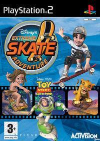 Portada oficial de Disney's Extreme Skate Adventure para PS2