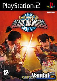 Portada oficial de Onimusha Blade Warriors para PS2