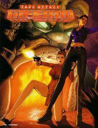 Portada oficial de Fear Effect Inferno para PS2