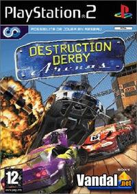 Portada oficial de Destruction Derby Arenas para PS2