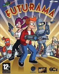 Portada oficial de Futurama para PS2