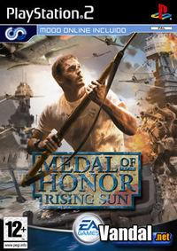 Portada oficial de Medal of Honor: Rising Sun para PS2