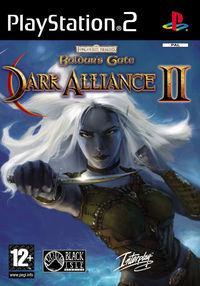 Portada oficial de Baldur's Gate: Dark Alliance 2 para PS2