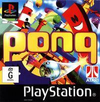 Portada oficial de Pong para PS One