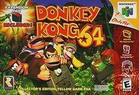Portada oficial de Donkey Kong 64 para Nintendo 64
