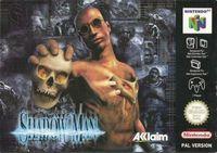 Portada oficial de Shadow Man para Nintendo 64