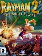 Portada oficial de de Rayman 2 para PC