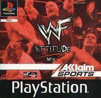 Portada oficial de WWF Attitude para PS One