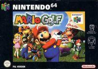 Portada oficial de Mario Golf para Nintendo 64